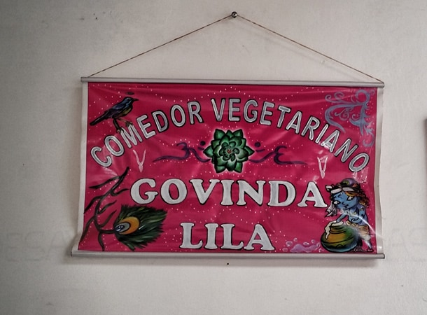 Great restaurant in Cusco Govinda Lila