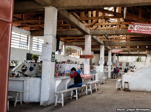 mercado san blas cusco, peru