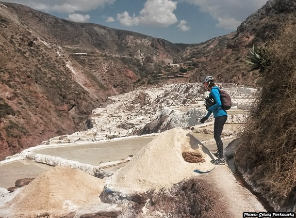 biking tour to salt mines in maras, near cusco