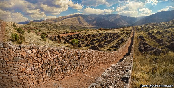 Pikillacta ruins near Cusco as an example of Wari culture