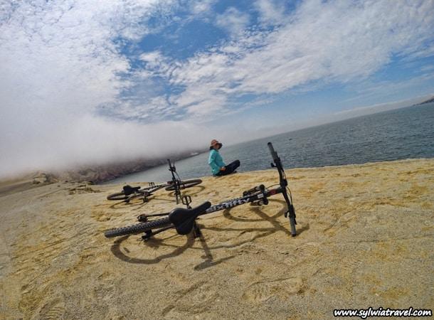 Rowerem po Peru Paracas