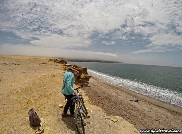 Paracas National Reserve Bicycle trip