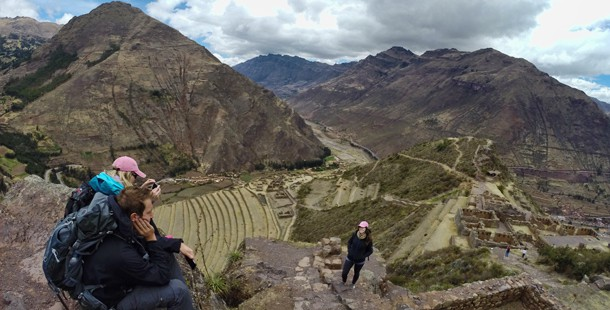Worth to see in region Cusco. Pisac ruins