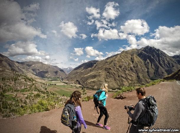 Ruiny w Pisac, Cusco
