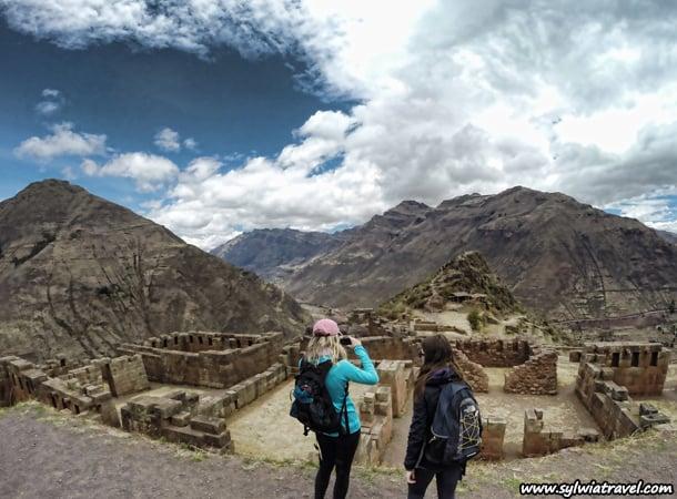 Inca Ruins in Pisac, Cusco