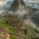 Famous Lost City of the Incas Machu Picchu