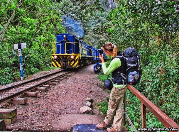 on the way to Machu Picchu in Peru