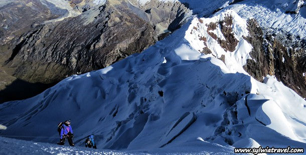 Photo Gallery from climbing Yanapaccha summit in Cordillera Blanca
