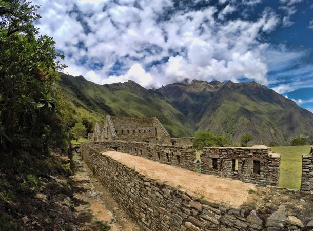 Inca ruins in Choquequirao