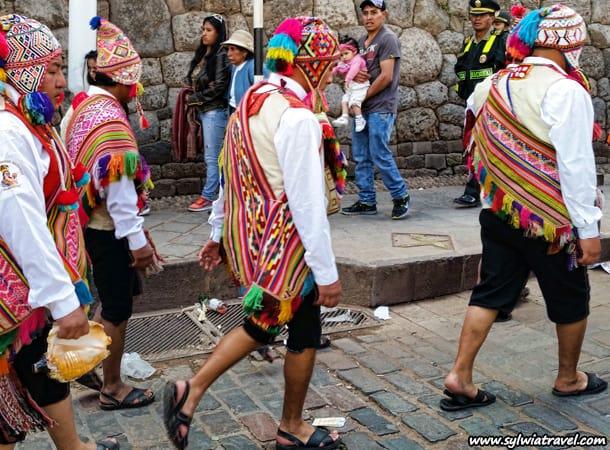 Jedna z ulic w Cusco, Peru