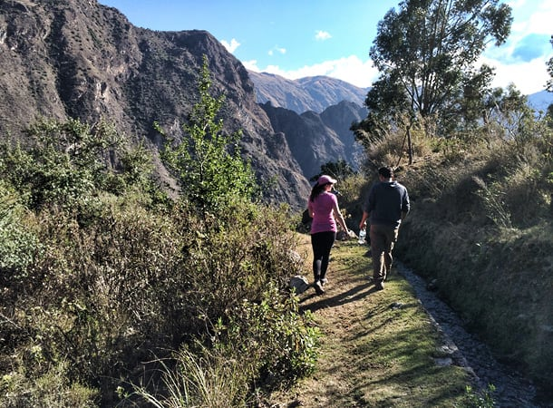 Trekking in Patacancha Valley