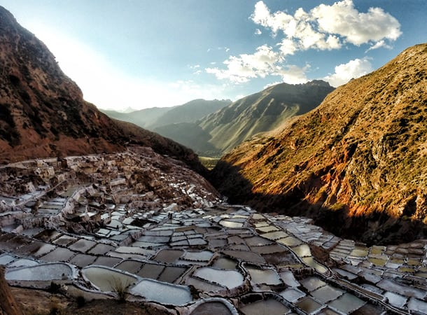 Salineras-de-maras-Peru,-Cusco-region