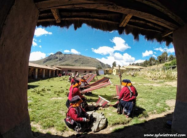 Peru tekstylia w spolecznosci Amaru