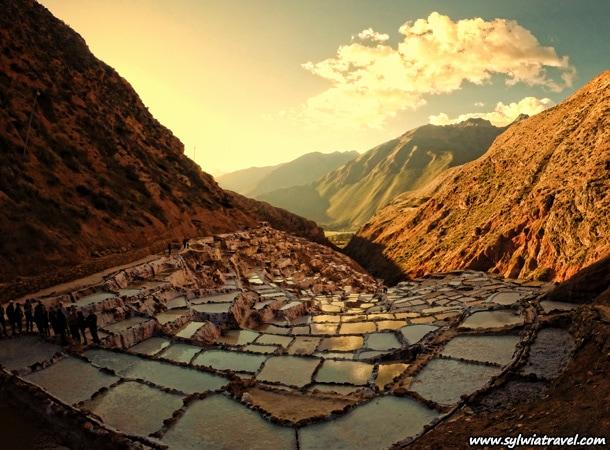 Salineras de Maras wyprawy do Peru