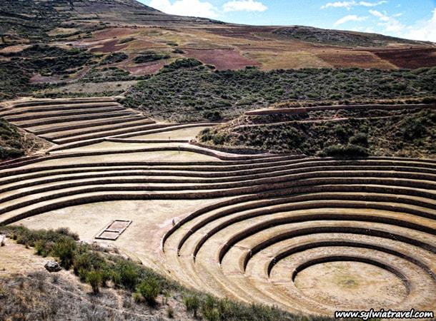 Laboratorium rolnicze Inkow Moray Peru