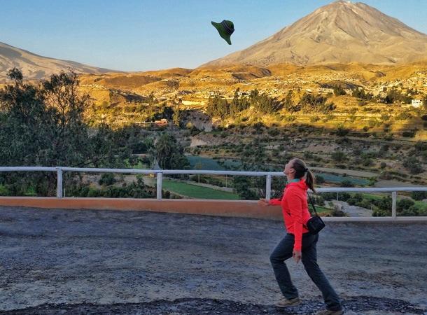 Volcanoes in Peru