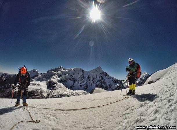 Climbing in Peru, Campa summit