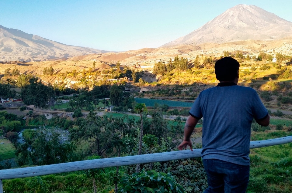 Several Volcanoes In One Place Feel The Freshness Of Mountain And Sea Climate Should Have Thought Of Going To Arequipa In Peru Check Below What Is