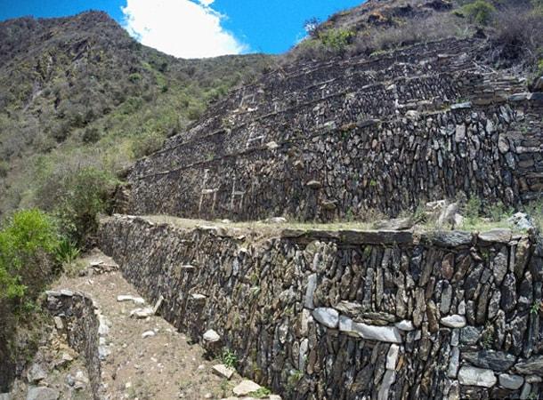 Ruiny Choquequirao w Peru