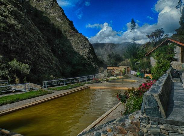 Gorące źródła w Peru