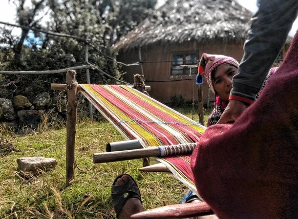 Tekstylia w Peru