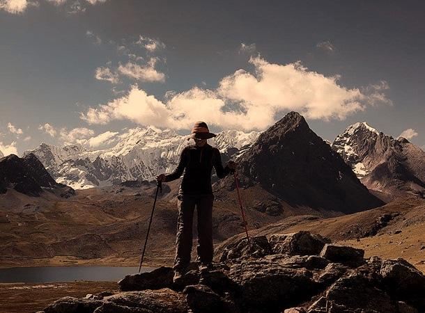 Okolice Ausangate trekking w Peru