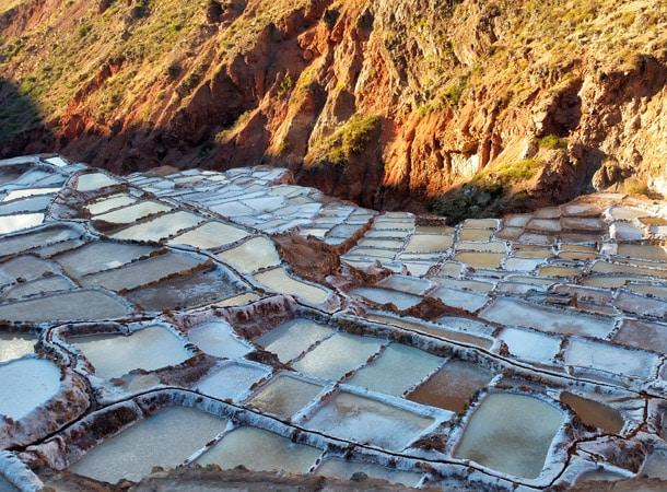 Kopalnia soli w Salineras de Maras Peru