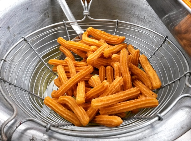 Peruvian food churros