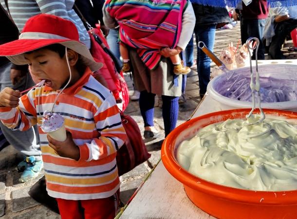 Desery w Peru