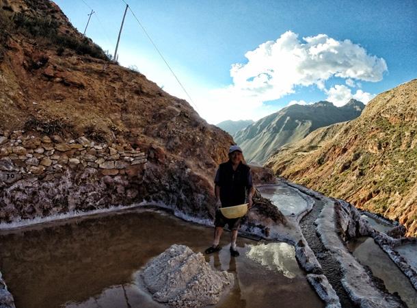 Wyprawy do peru i Kopalnia-soli-w Salineras de Maras region Cusco