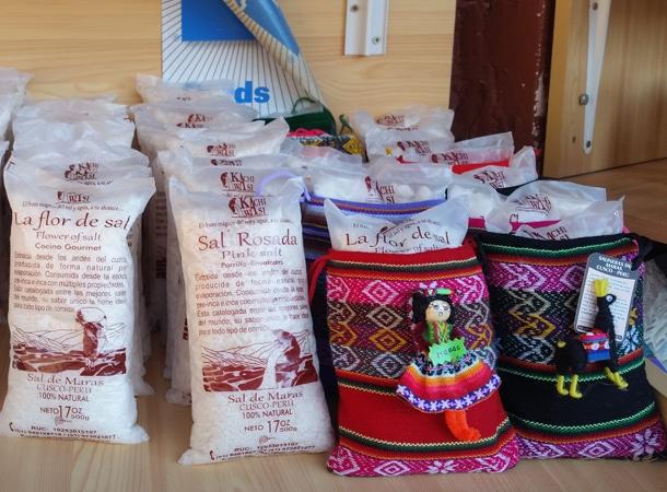 Sól z Maras w Peru