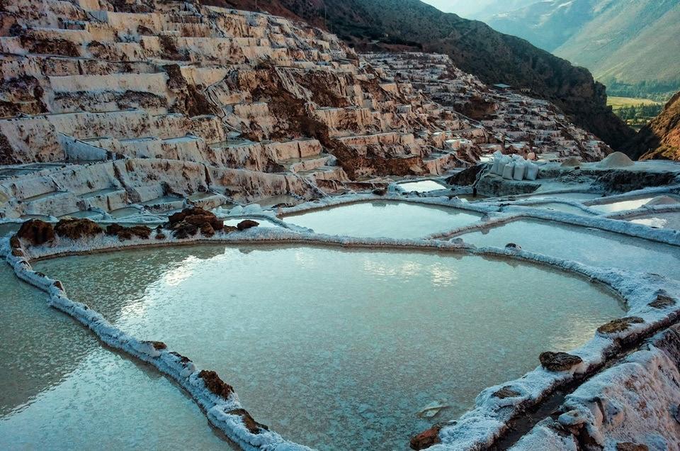 Wycieczka do salineras de Maras w Peru