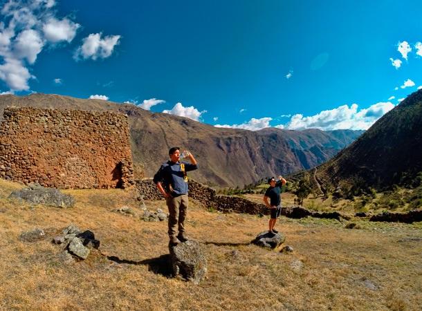 Pumamarca w dolinie Patacancha