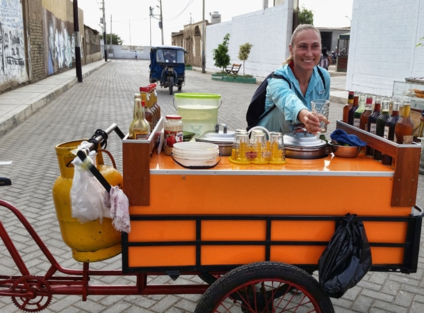 Napoje w Peru
