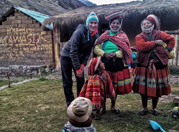 Wyprawy po Peru i spotkania z lokalną ludnością