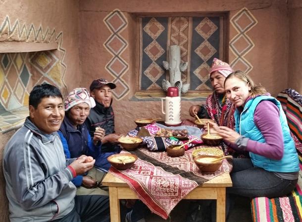 Wakacje w Peru i lokalne spotkania