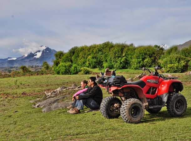 Wyprawa do Peru i przejażdżka quadem