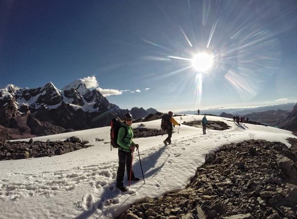 Co warto zobaczyć w Peru. Trekking i wspinaczka na szczyt Campa. Wakacje w Peru