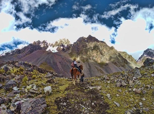 Wakacje w Peru na koniach