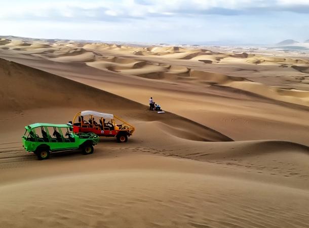 Peru wakacje i buggy w Hacachina