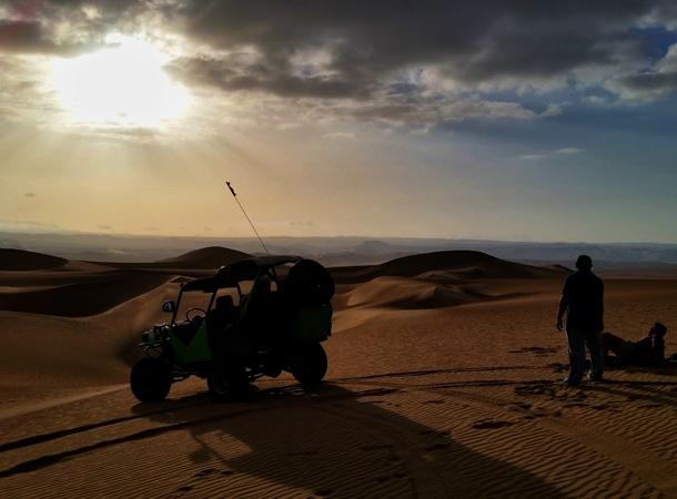 Peru wakacje i buggy w Huacachina