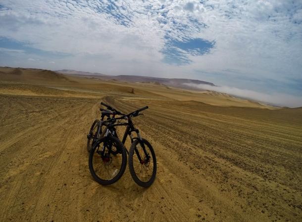 Peru wakacje na rowerze po Paracas National Reserve