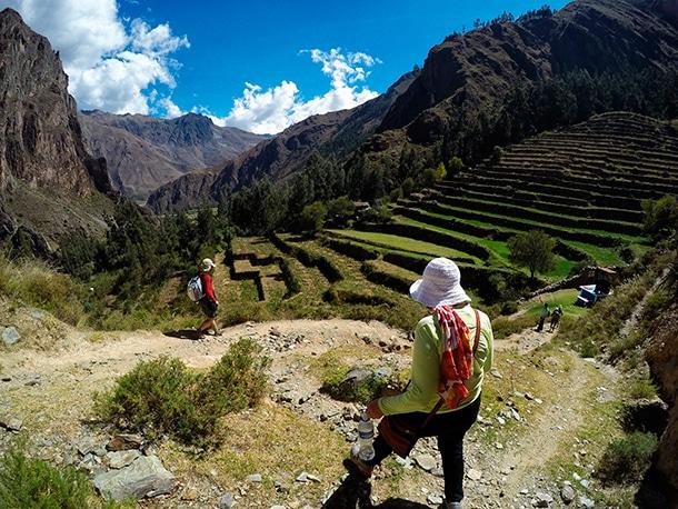 Andeny czyli tarasy uprawne w Peru