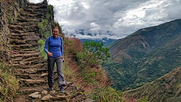 Szlaki Inków w Andach w Peru