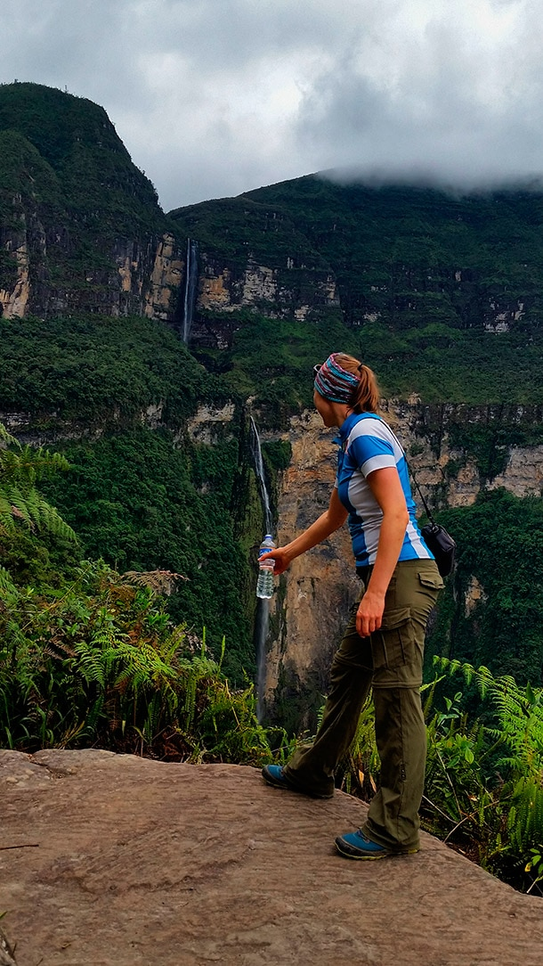 Wodospad Gocta w Peru