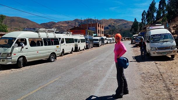 Lokalny transport w Peru. Wycieczki do Peru