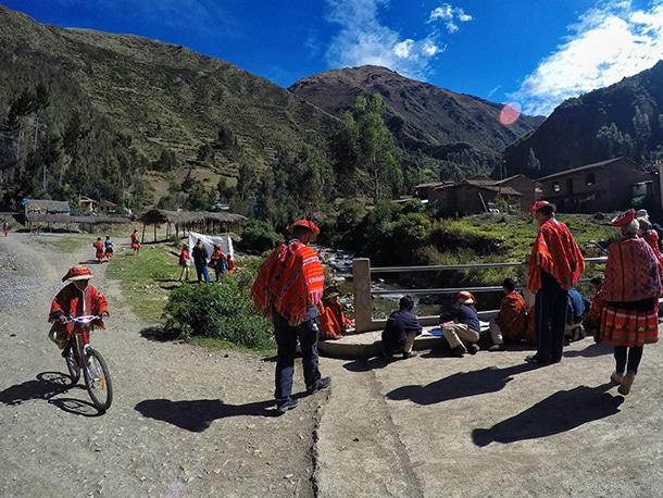 Wakacje w Peru dolina Patacancha
