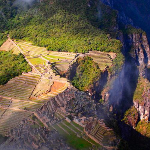 Machu Picchu, czy Huayna Picchu