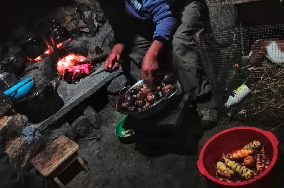 Peruwiańska kuchnia podczas wyprawy do Peru