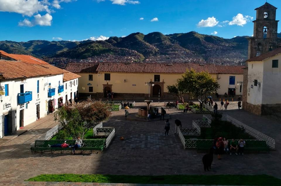 Przewodnik po mieście Cusco Peru